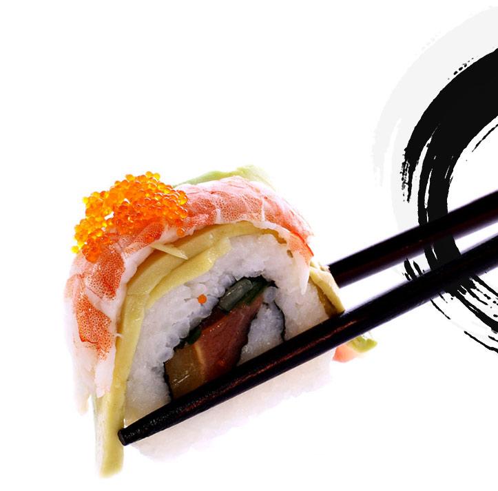 sushi-on-chop-sticks